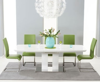 High Gloss Dining Sets | Dining Room Furniture |First Furniture Intended For Hi Gloss Dining Tables Sets (Image 7 of 25)