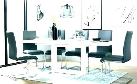 High Gloss Dining Table High Gloss White Dining Table P Black High Within Black Gloss Dining Sets (Image 14 of 25)