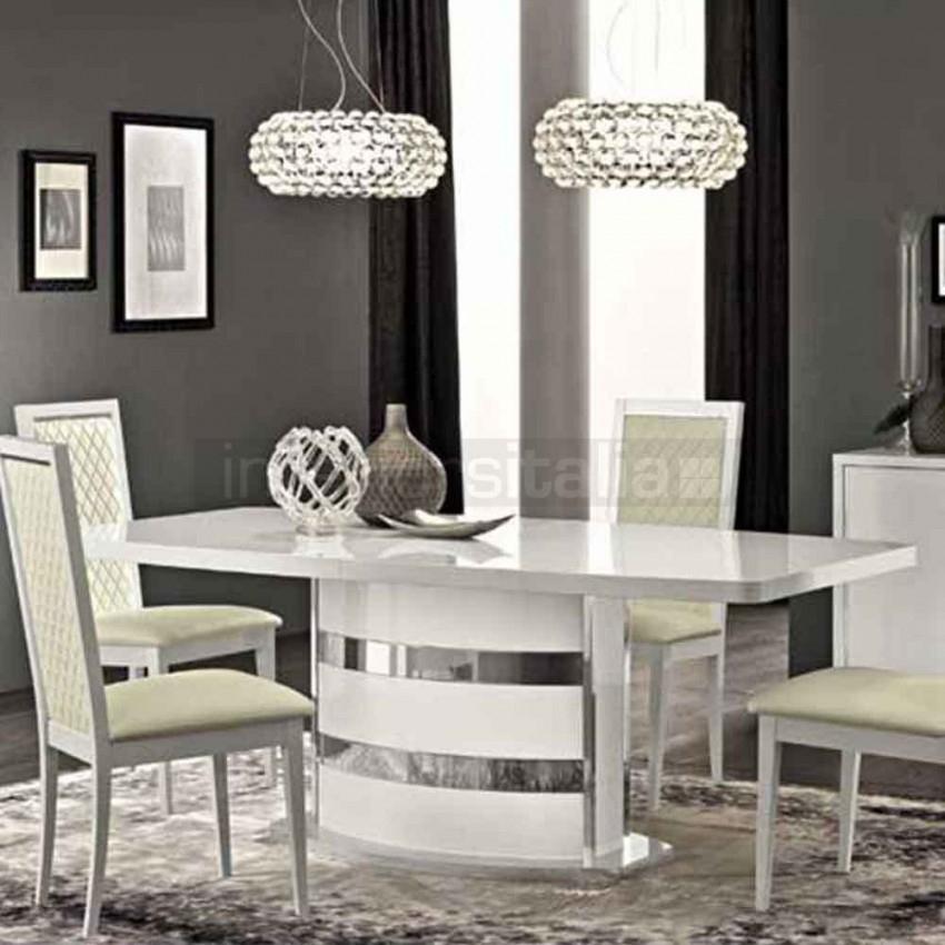 High Gloss Dining Table | Roma | Clearance Sale Pertaining To High Gloss Dining Tables Sets (Image 9 of 25)