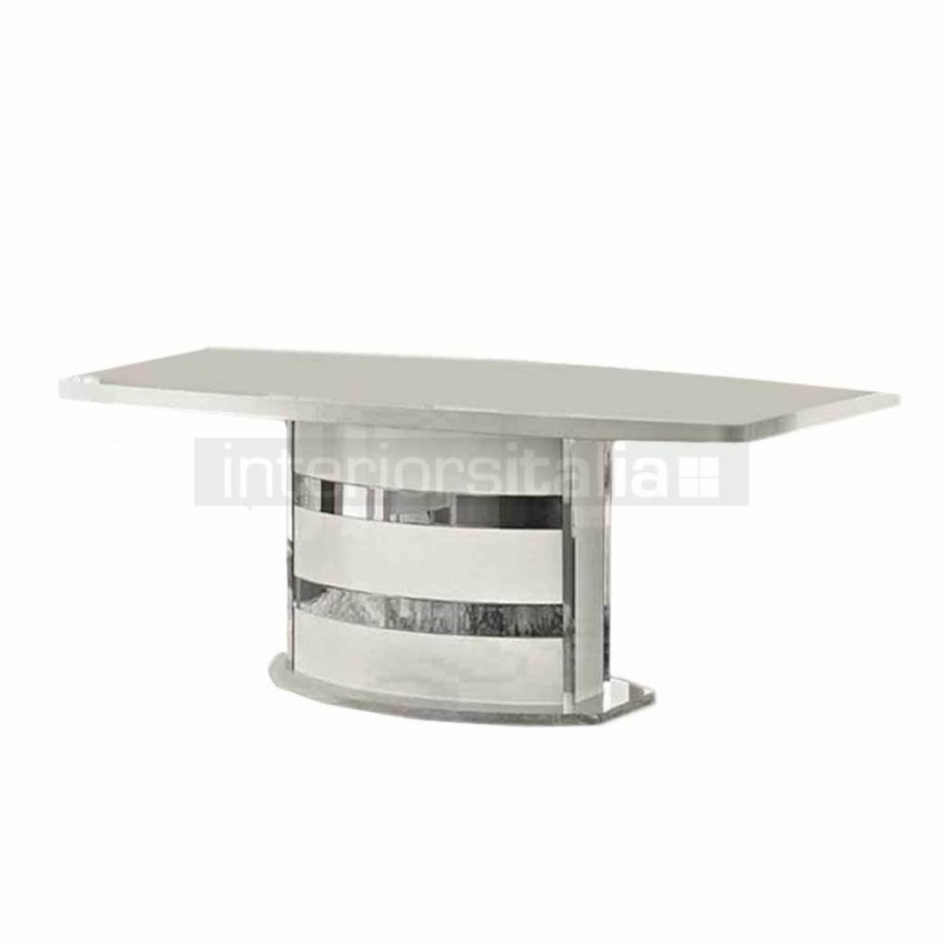 High Gloss Dining Table   Roma   Clearance Sale Pertaining To Roma Dining Tables (Image 10 of 25)