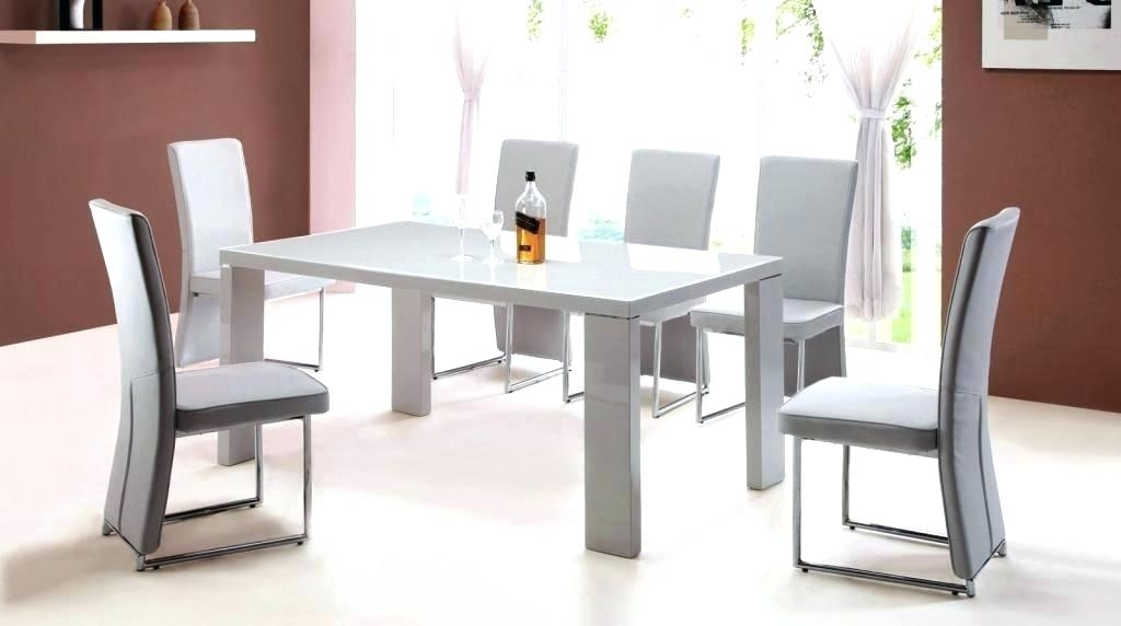 High Gloss Dining Table Sets High Gloss Kitchen Table And Chairs Pertaining To Gloss Dining Tables Sets (View 5 of 25)