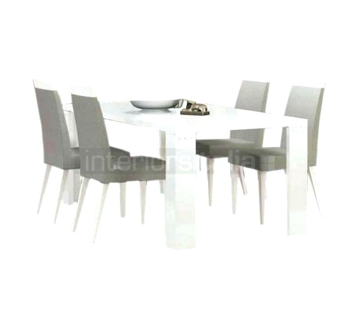 High Gloss Dining Table White And Chairs Tables Round Grey – Novape Throughout White Gloss Dining Tables Sets (Image 11 of 25)