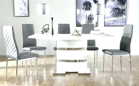 High Gloss Dining Tables High Gloss Dining Table And Chairs Uk Throughout Gloss Dining Tables Sets (Image 15 of 25)