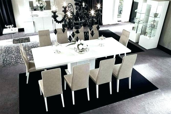 High Gloss Wood Dining Table – Pizzaitaliana For Black Gloss Dining Room Furniture (Image 11 of 25)