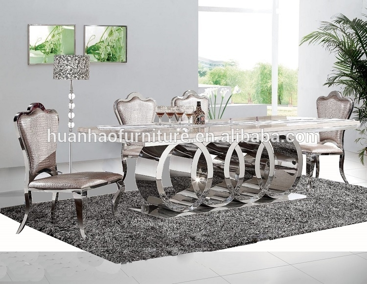 High Quality European Style 8 Seater Marble Dining Table – Buy Within 8 Seater Dining Tables (View 8 of 25)
