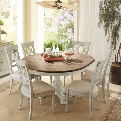 Highland Dunes Allgood 7 Piece Dining Set In 2018 | Products Inside Kirsten 5 Piece Dining Sets (Image 10 of 25)