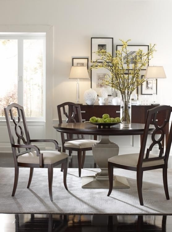 Highland House Furniture: Hh20 315 Cf – Orion Round Dining Table Regarding Candice Ii Round Dining Tables (Image 18 of 25)