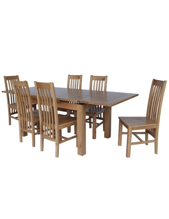 Hillsboro Dining Set Of 7 With Portland 2200 Table And 6 Chairs Throughout Portland 78 Inch Dining Tables (Image 10 of 25)