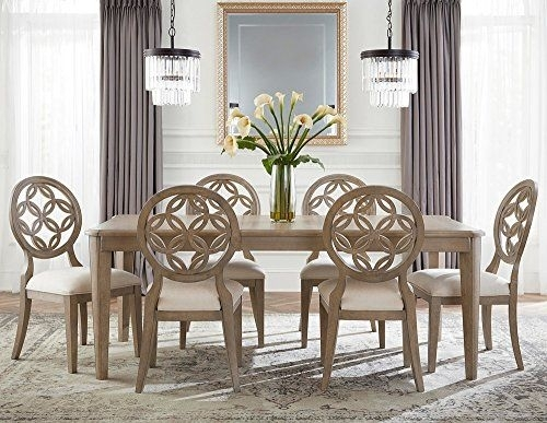 Hillsdale Savona 7 Piece Dining Set | Home Interior | Pinterest Throughout Jaxon Grey 7 Piece Rectangle Extension Dining Sets With Uph Chairs (Image 12 of 25)