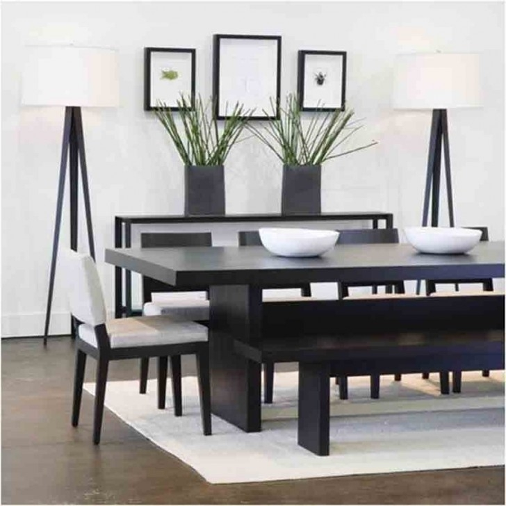 Home Dining Inspiration Ideas Room With Dark Wood Regard To Black Throughout Solid Dark Wood Dining Tables (Image 15 of 25)