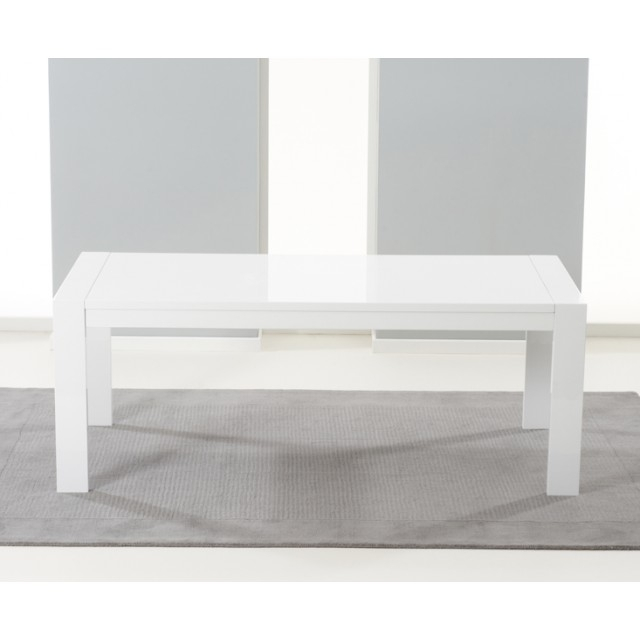 Home Furniture Trading Venice White High Gloss Extending Dining Inside White Gloss Extending Dining Tables (Image 8 of 25)