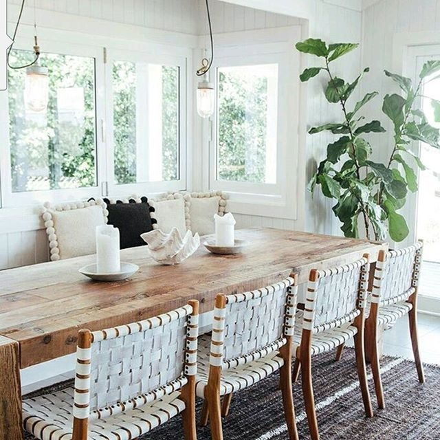 Home / Holiday Inspiration: The Grove Byron Bay | Dine | Pinterest With Coastal Dining Tables (View 3 of 25)