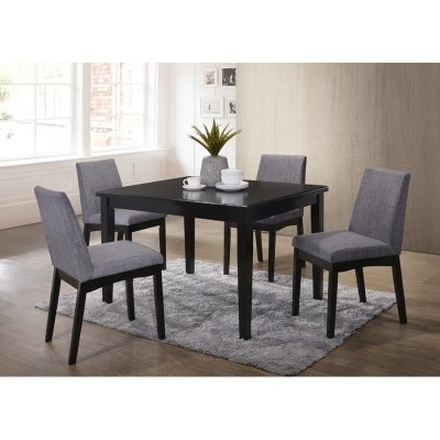 Home Source Industries Mattie Dining Table – H 6064 T Mop Within Caden 5 Piece Round Dining Sets With Upholstered Side Chairs (View 16 of 25)