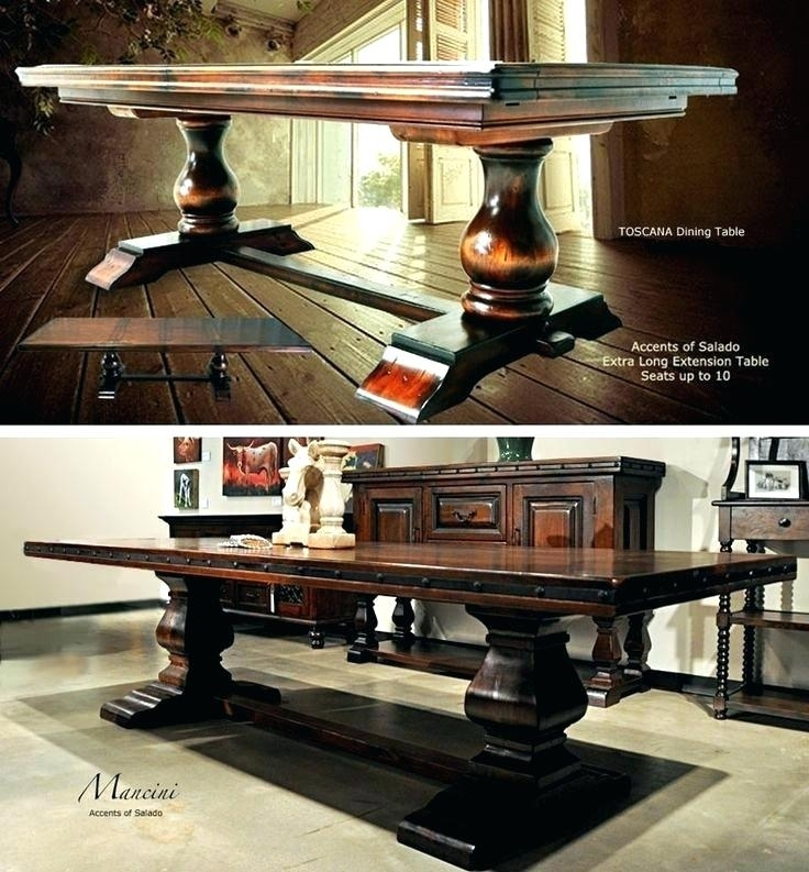 Home Tables Dining Toscana Table Plans – Carrell (Image 6 of 25)
