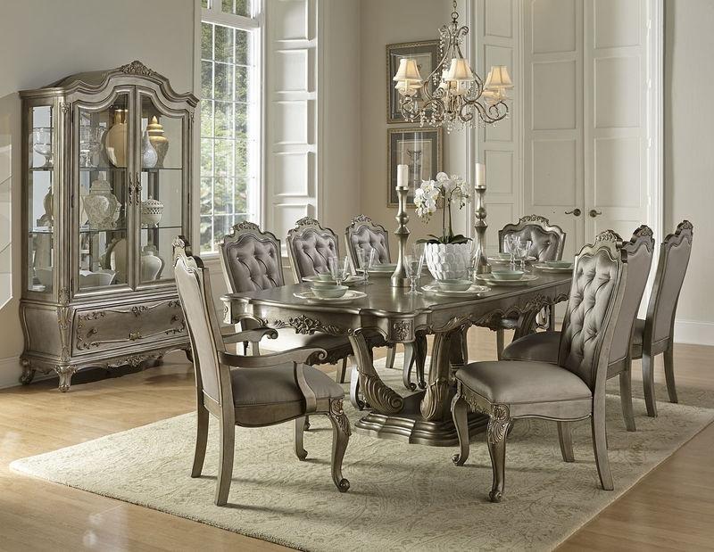 Homelegance | 1867 102 Florentina Formal Dining Room Set | Dallas Regarding Cheap Dining Room Chairs (Image 21 of 25)