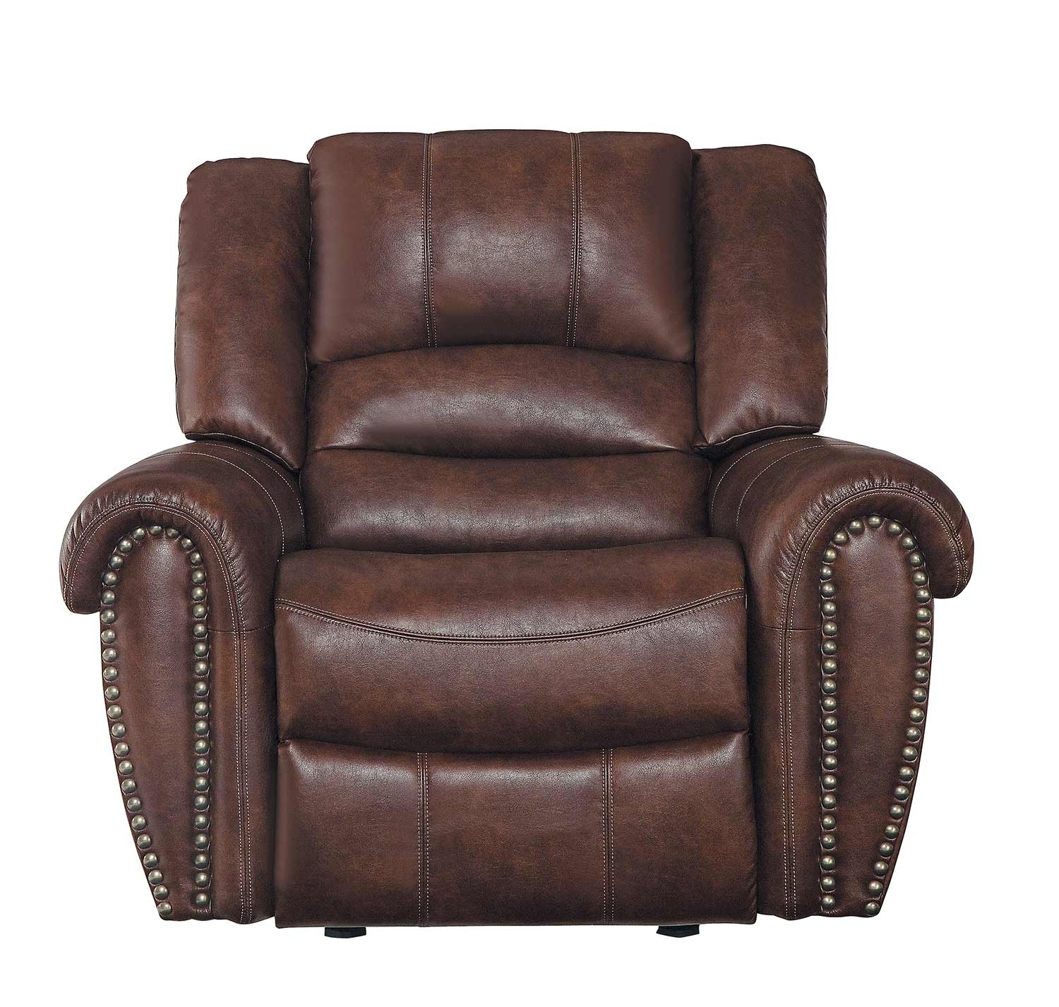 Homelegance Center Hill Reclining Sectional Set – Dark Brown 9668Nsd With Regard To Clyde Saddle 3 Piece Power Reclining Sectionals With Power Headrest & Usb (Image 13 of 25)