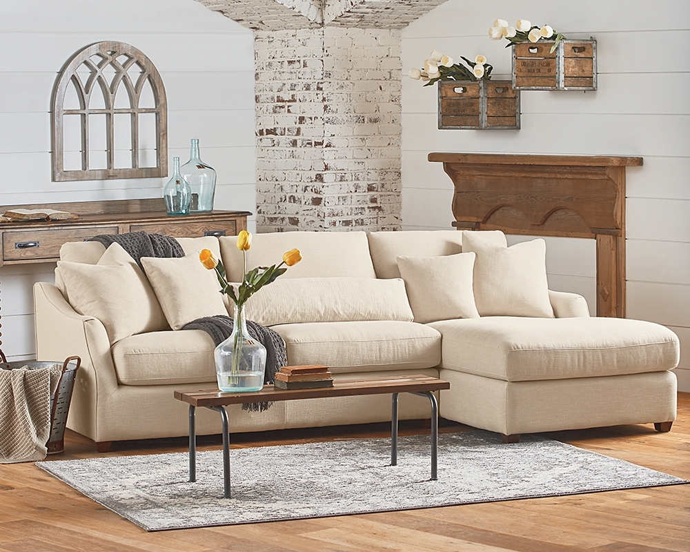 Homestead Chaise Sofa – Magnolia Home In Magnolia Home Homestead 4 Piece Sectionals By Joanna Gaines (Image 5 of 25)
