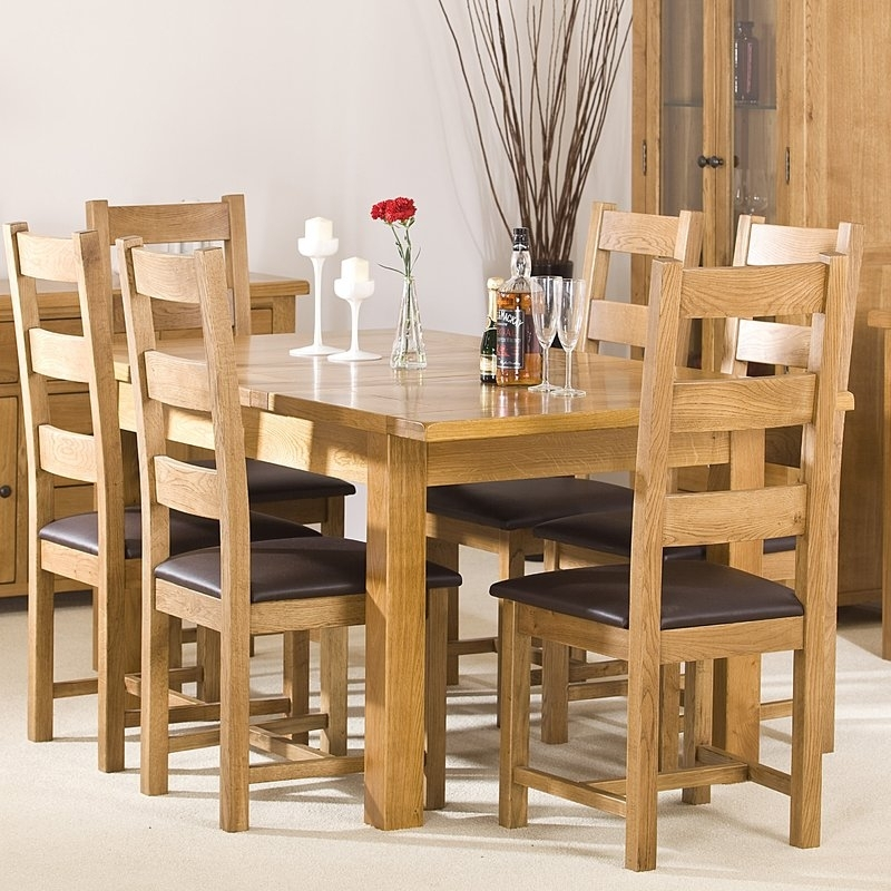 Homestead Living Extendable Dining Table And 6 Chairs | Wayfair.co (Image 18 of 25)
