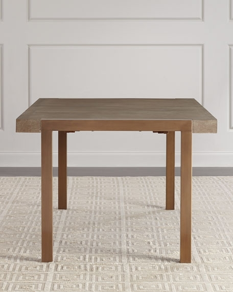 Hooker Furniture Wyatt Rectangle Dining Table With Leaves for Wyatt Dining Tables