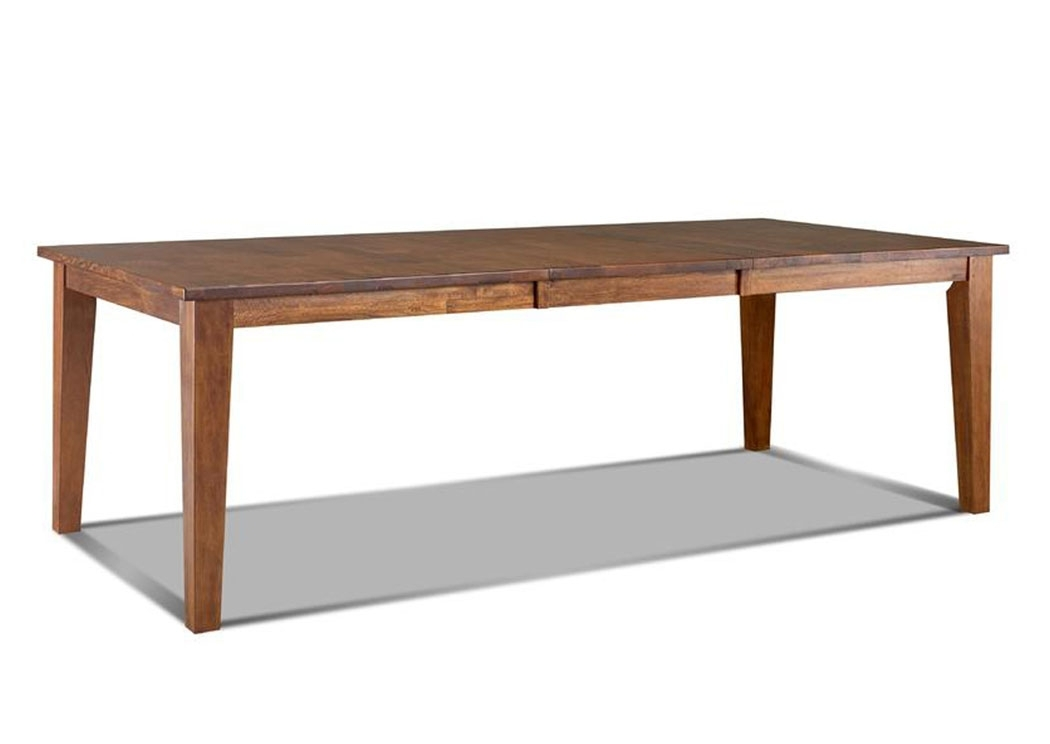 Hornell Furniture Outlet Urban Craftsmen Rectangular Dining Table Within Craftsman Rectangle Extension Dining Tables (Image 15 of 25)