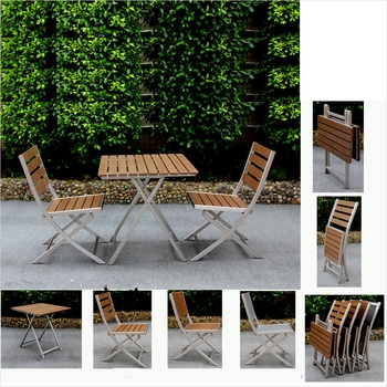 Hot Sale Garden Furniture Outdoor /teak Wood Dining Table And Chair For Outdoor Brasilia Teak High Dining Tables (Image 7 of 25)