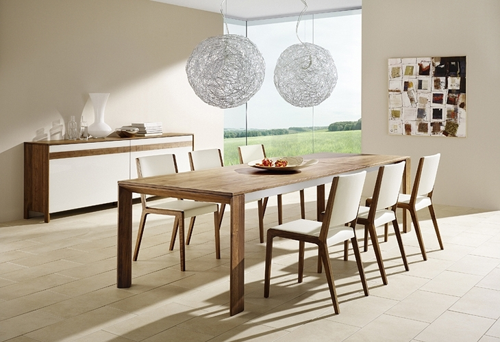 How To Build A Contemporary Dining Room Table — Contemporary Throughout Contemporary Dining Furniture (Image 17 of 25)