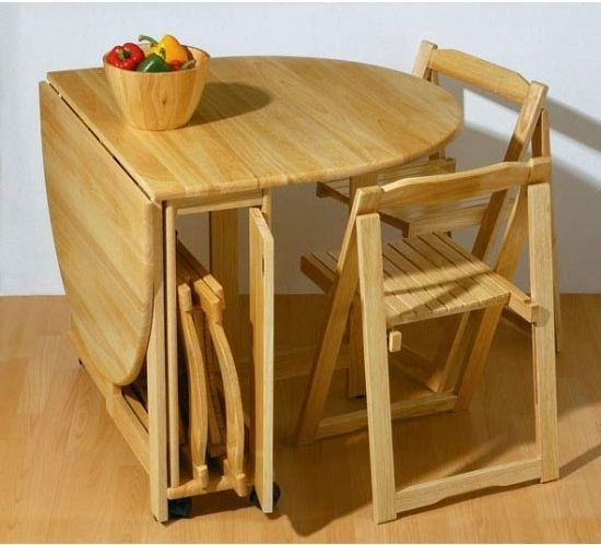 How To Choose Dining Tables For Small Spaces | Tables | Pinterest Inside Folding Dining Tables (Image 17 of 25)