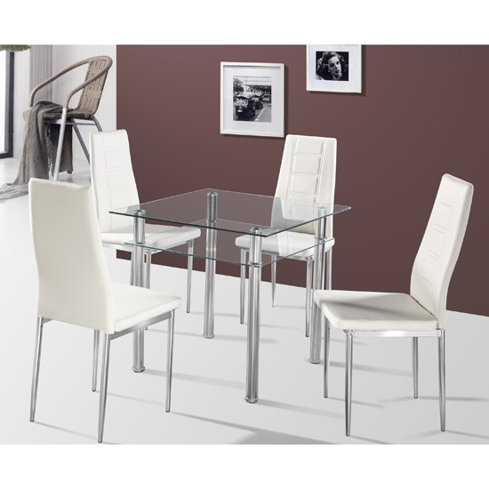 How To Choose Efficient Kitchen Dining Sets For Kitchens In Small 4 Seater Dining Tables (Image 14 of 25)