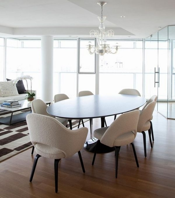 How To Choose The Right Dining Room Chairs Dining Chairs With Wheels Regarding Modern Dining Tables And Chairs (Image 7 of 25)