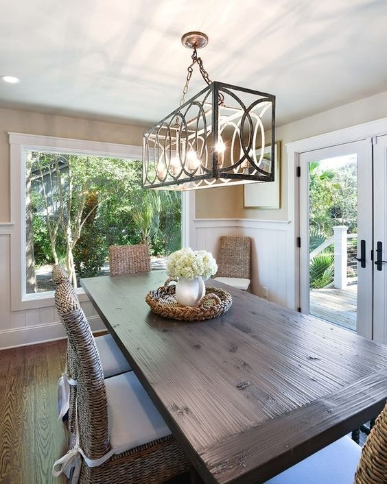 How To | Dining Table Chandelier Selecting — Tina Marie Interior Design For Dining Tables Lights (Image 17 of 25)