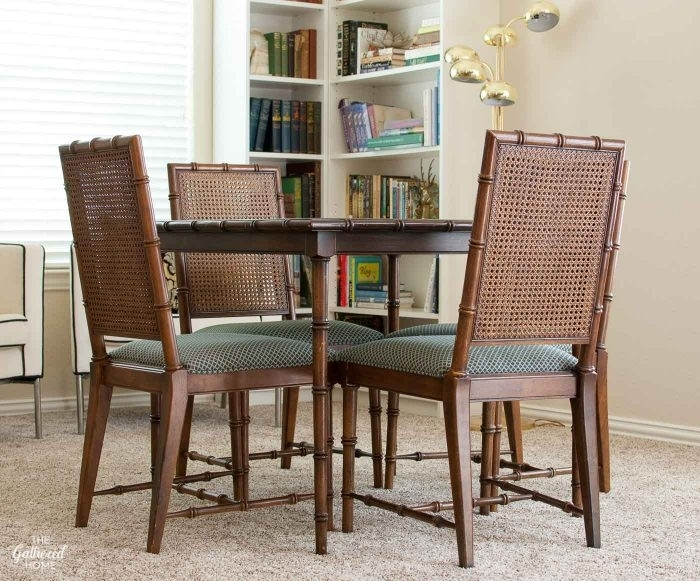 How To Fix A Sagging Dining Chair Seat – The Gathered Home For Dining Room Chairs Only (Image 18 of 25)
