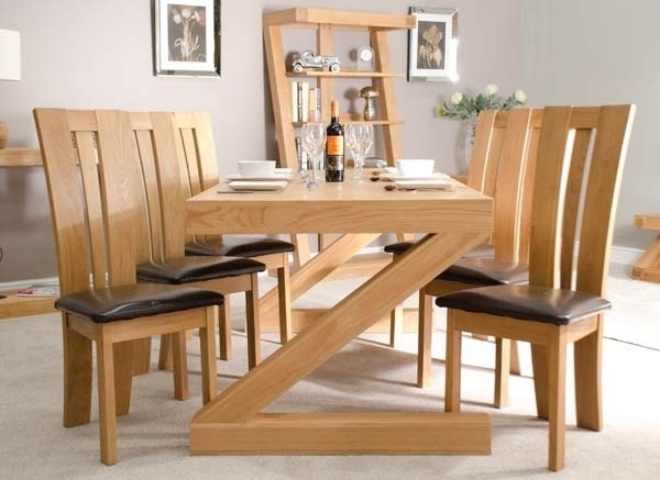 How To Get The Oak Dining Sets? – Pickndecor Throughout Oak Furniture Dining Sets (Image 7 of 25)