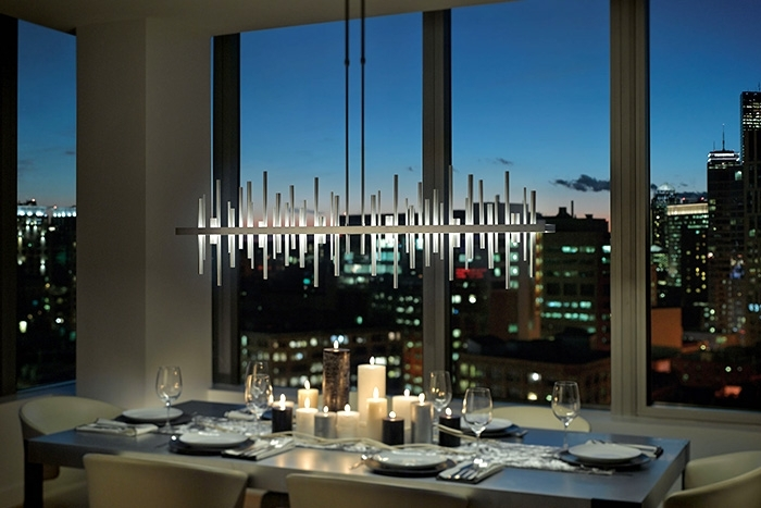 How To Light A Dining Room – Lightology In Led Dining Tables Lights (Image 10 of 25)