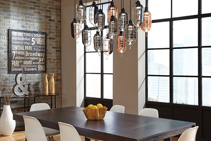 How To Light A Dining Room – Lightology Within Lights For Dining Tables (Image 15 of 25)