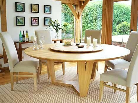How To Use A Circular Dining Table – Home Decor Ideas Within Circle Dining Tables (View 4 of 25)