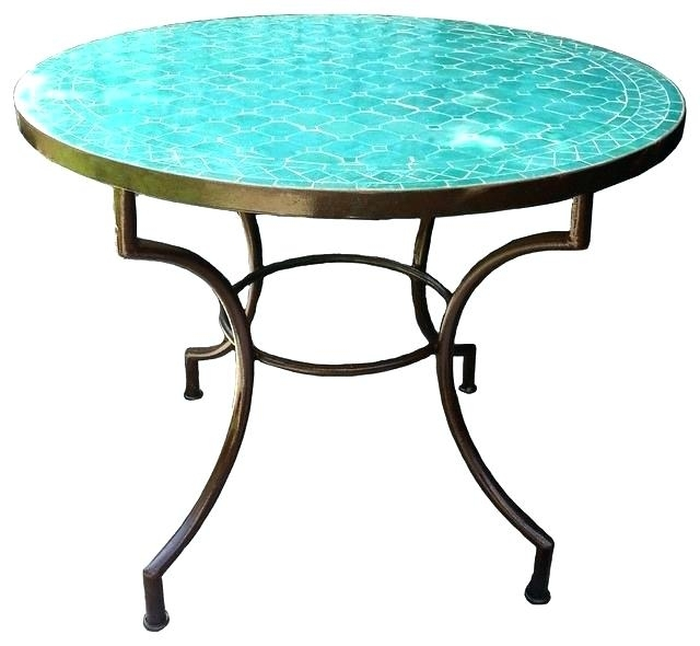 Http://stanthecoder/mosaic Outdoor Dining Table/mosaic Outdoor Within Mosaic Dining Tables For Sale (Image 8 of 25)