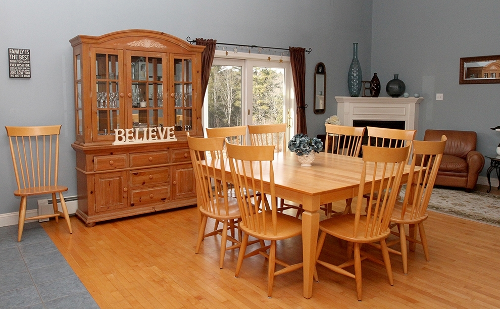 Https://www.centralmaine/2016/01/09/paris-Street-Fire-In-Waterville regarding Combs 5 Piece 48 Inch Extension Dining Sets With Pearson White Chairs