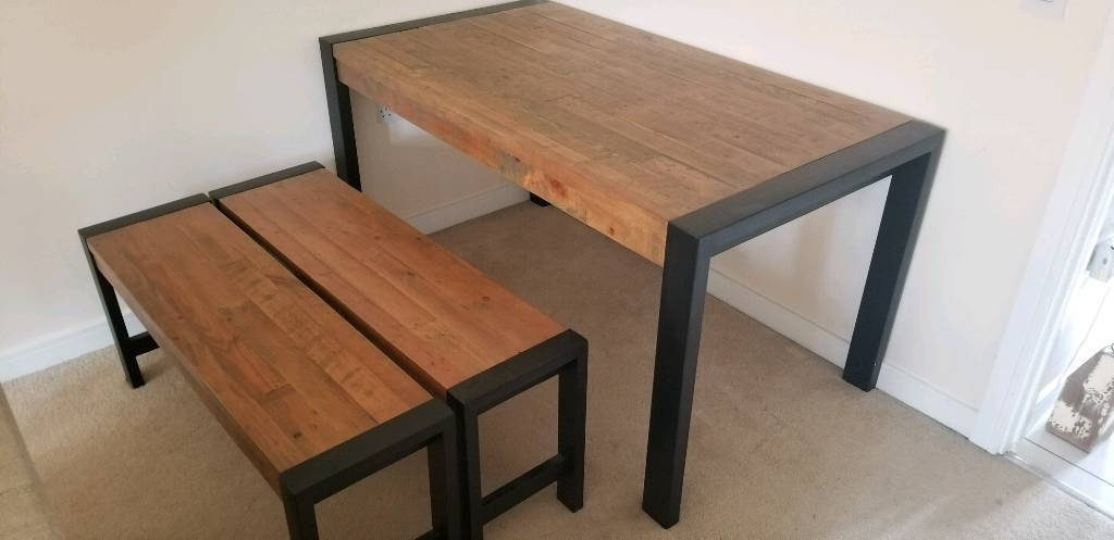 Hudson Dining Table And Bench Set From Next | In Daventry intended for Next Hudson Dining Tables