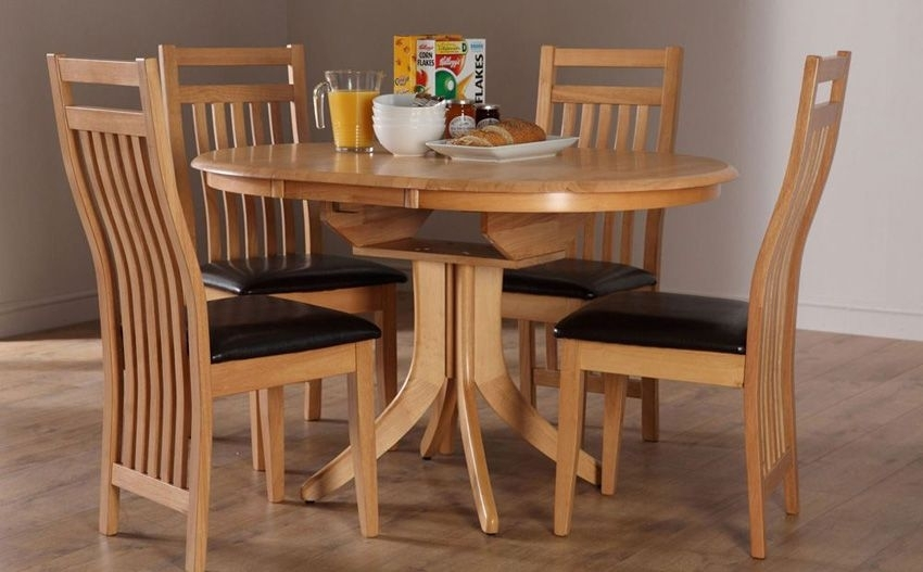 Hudson Extending Dining Table | Kitchen | Pinterest | Dining, Lounge For Round Extending Oak Dining Tables And Chairs (Image 12 of 25)