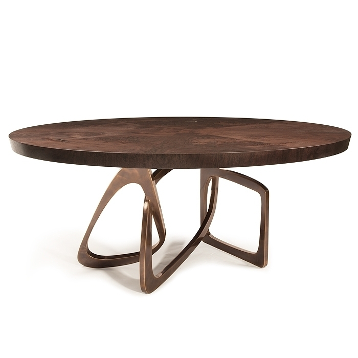Hudson Furniture, Dining-Tables, Round Bangle intended for Hudson Round Dining Tables