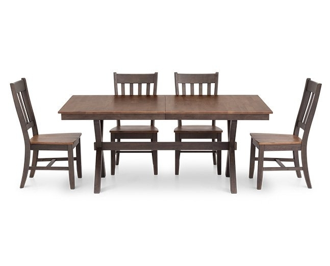 "Hudson Park 60"" Rectangle Dining Table – Furniture Row In Hudson Dining Tables And Chairs (View 3 of 25)"