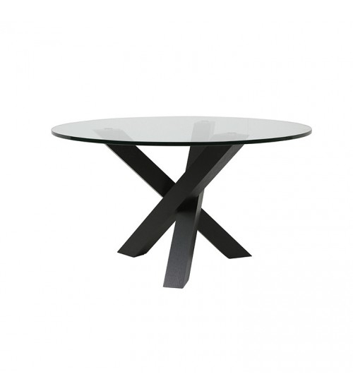 Hudson Round Dining Table Intended For Hudson Round Dining Tables (Image 8 of 25)