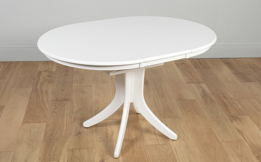 Featured Image of Round White Extendable Dining Tables