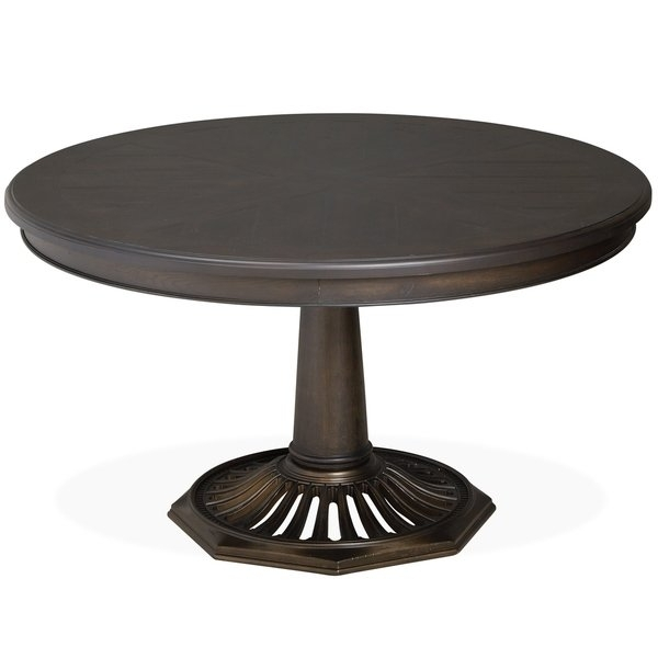 Hudson Square Vintage Charcoal Round Dining Table - Vintage Charcoal for Hudson Round Dining Tables
