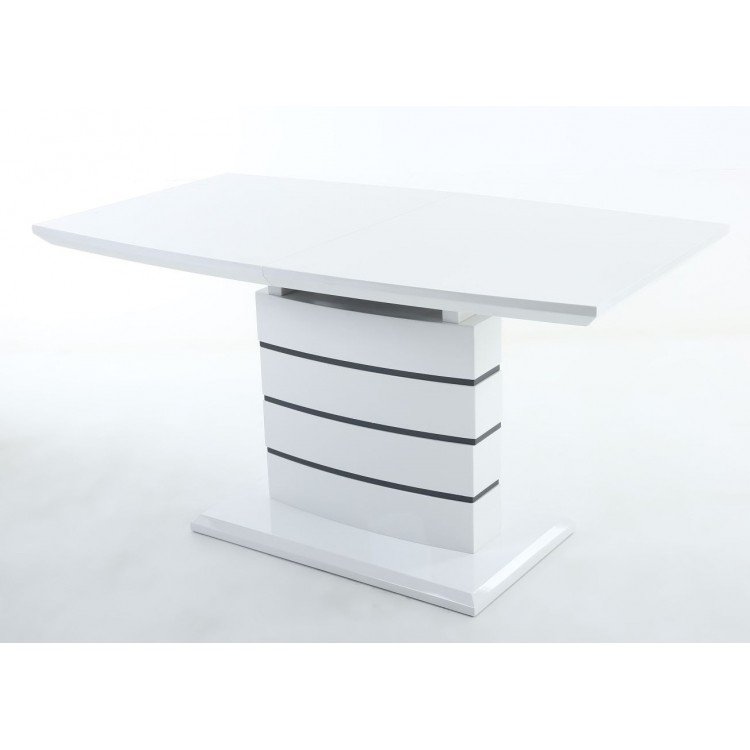 Huge Discounts On Penthouse Dining Tables From Oak Furniture House With White Gloss Dining Tables 140Cm (Image 12 of 25)