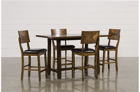 Hutton 5 Piece Counter Set – Main | Maybe I Want This? | Pinterest Pertaining To Rocco 7 Piece Extension Dining Sets (Image 11 of 25)