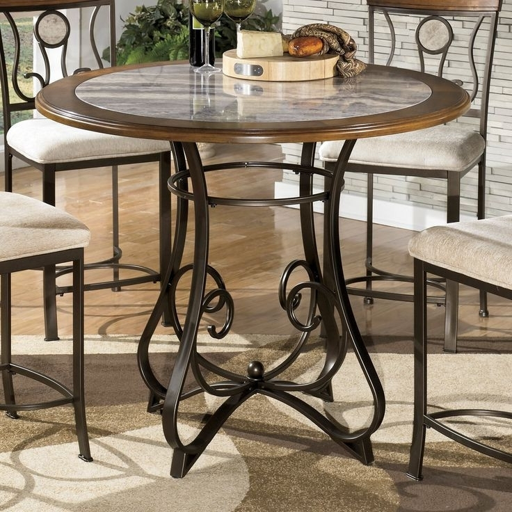 Hyland Counter Height Dining Room Table | Dining Room Design Ideas pertaining to Hyland 5 Piece Counter Sets With Stools