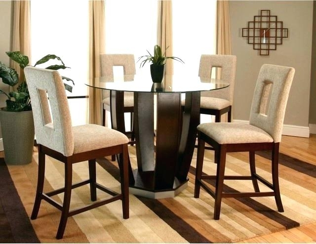 Hyland Counter Height Dining Room Table – Ocane Pertaining To Hyland 5 Piece Counter Sets With Stools (View 9 of 25)