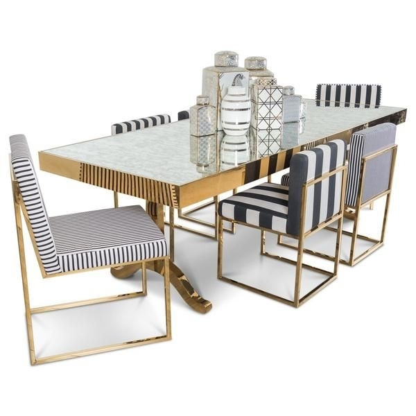 Ibiza Dining Table With Antique Mirror | Home Objects Of Desire In With Regard To Antique Mirror Dining Tables (View 18 of 25)