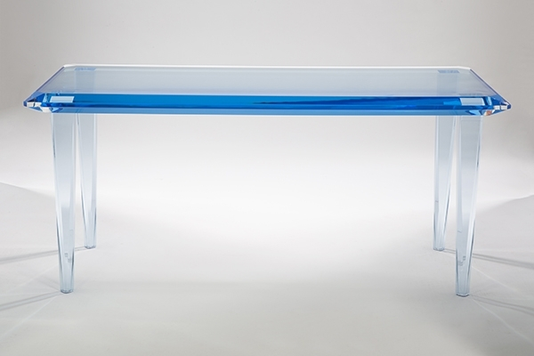 Ice Acrylic Dining Table  (Image 15 of 25)